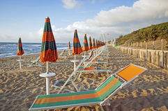 Vid stranden i Italien 4 Royaltyfria Bilder