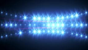 VID - Wall Of Lights I Stock Photography
