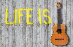 A vida é Fotos de Stock Royalty Free