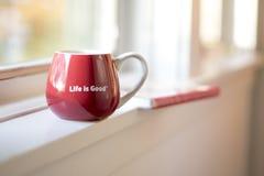 A vida é boa certamente imagens de stock