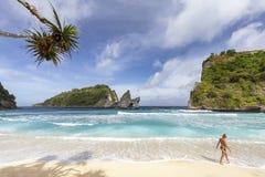 A vida é uma praia fotos de stock royalty free