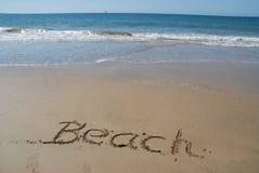 A vida é uma praia, feriado conceptual da praia imagens de stock royalty free
