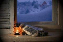 Vida acogedora del invierno aún Fotografía de archivo libre de regalías