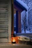 Vida acogedora del invierno aún Imagenes de archivo