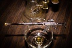 Vida AK-47 del lenguado fotos de archivo