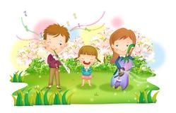 Vida alegre libre illustration