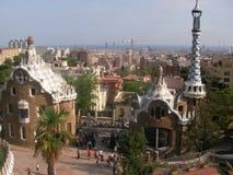 Vida Barselona. Travel on Europe excursion on the Spanish city of Barcelona Stock Photography