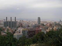 Vida Barselona. Travel on Europe excursion on the Spanish city of Barcelona Royalty Free Stock Photos