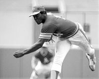 Vida Blue, Oakland Athletics lizenzfreie stockfotos