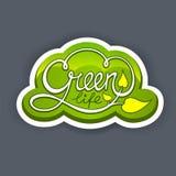 Vida verde ilustração do vetor