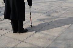 Vida china de los ancianos Fotografía de archivo libre de regalías
