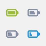 Vida da bateria - ícones do granito ilustração stock