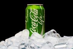 VIDA da coca-cola Fotografia de Stock