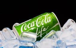 VIDA da coca-cola Imagem de Stock