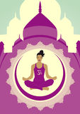Vida da ioga Fotografia de Stock Royalty Free