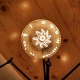 Vida da lâmpada do halogênio fotografia de stock royalty free