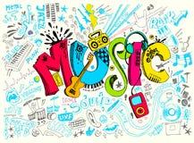 Vida da música Imagem de Stock Royalty Free