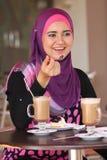 Vida da menina muçulmana fotografia de stock royalty free