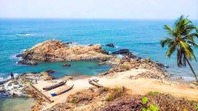 Vida da praia Foto de Stock