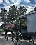Vida de Amish Imagenes de archivo