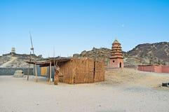 Vida de beduinos Foto de archivo