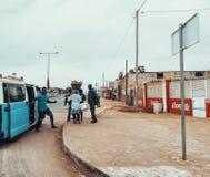 Vida de cada día angolana Foto de archivo