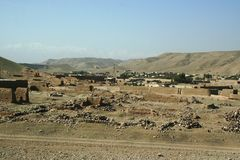 Vida de cada día de Afganistán imagenes de archivo