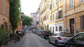 vida de cada día de Roma, Italia, 4k almacen de metraje de vídeo