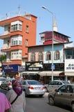 Vida de calle de Antalya, Turquía Foto de archivo libre de regalías
