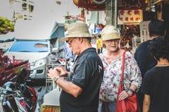 Vida de Chinatown Fotos de archivo