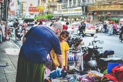 Vida de Chinatown Fotos de archivo libres de regalías