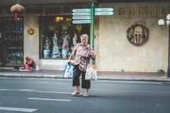 Vida de Chinatown Fotografía de archivo