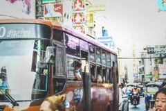 Vida de Chinatown imagenes de archivo