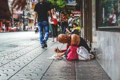 Vida de Chinatown fotografía de archivo libre de regalías