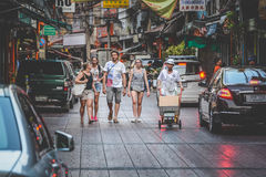 Vida de Chinatown imagen de archivo libre de regalías