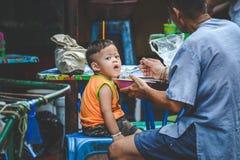 Vida de Chinatown imagen de archivo