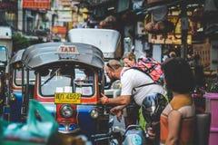 Vida de Chinatown Foto de archivo libre de regalías
