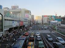 Vida de cidade de Tokyo Fotografia de Stock
