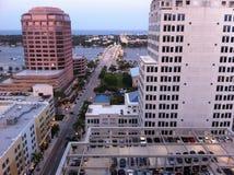 Vida de ciudad Foto de archivo libre de regalías