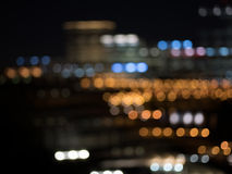 Vida de ciudad de la noche foto de archivo libre de regalías