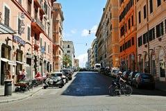 Vida de ciudad de Roma Vista de la ciudad de Roma el 1 de junio de 2014 Fotografía de archivo