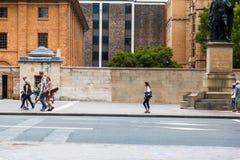 Vida de ciudad de Sydney Imagen de archivo libre de regalías