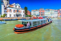 Vida de ciudad en Venecia Italia Fotografía de archivo libre de regalías