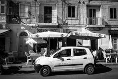 Vida de ciudad de Malta foto de archivo