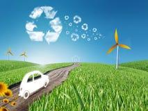 Vida de Eco ilustração royalty free