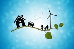 Vida de Eco Fotografía de archivo