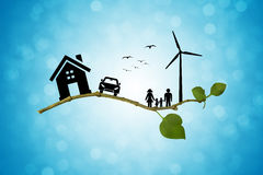 Vida de Eco Fotografia de Stock