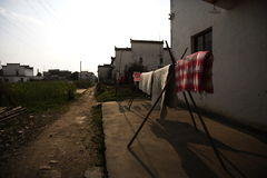 Vida de la aldea fotografía de archivo
