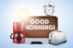 Vida de la buena mañana aún Imágenes de archivo libres de regalías