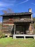 Vida de la cabaña de madera fotos de archivo libres de regalías